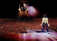 MJ on stage