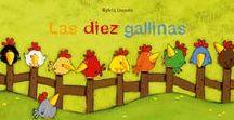 Las Diez Gallinas / Actividades, juegos e imprimibles del cuento Las Diez Gallinas