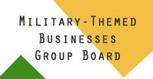 Military-Themed Businesses Group Board / Group board for military spouses, veterans, military families, civilian supporters, and others who have military-themed products or services.  Keep it clean and only post articles and products that support the military community.  Re-pin other pins daily!  To be added to the group board, follow all of my boards and email hello@jennyhale.com. Want to get more engagement on social media? Get your followers engaging with you online in less than 2 weeks here >>  https://bit.ly/2GXYHwB