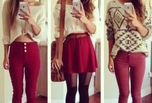 Winter.Likes ♡ / Styles I love in winter clothes :)