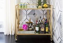 HOME: Bars and Bar Carts / by A Night Owl Blog