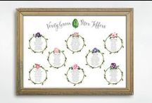 Table plans / Table plans from Vintage Designs