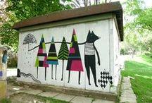 Boubish Walls / Walls I made