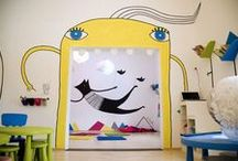 Laboratory of Fun / A children playground I've painted