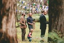 Woodland wedding / Natural, rustic, woodland inspired
