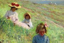 Children in the art