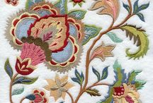 Jacobean embroidery / Якобинская вышивка / by MALINA GM