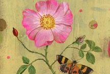 Flower in the art