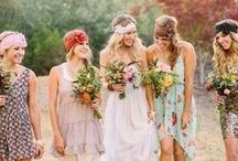 Festival Wedding / Relaxed, outdoors, boho, cool...