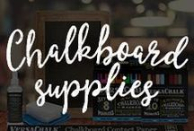 VersaChalk Products / VersaChalk chalkboard products help you create chalky home decor, beautiful wedding chalkboards, signs for your business, and much more!