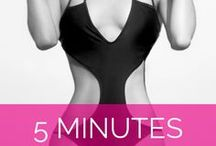 Sexy Abs + Waist Tips / How to tone your tummy, flatten your abs, and get a gorgeous hourglass shape.