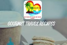 GOURMET RECIPES ROUND THE WORLD / Variety of recipes, uniquely made by people, chefs and travellers round the world form simple and fast to amazing cuisine by Michelin chefs find it here! Food is meant to be enjoyed,  welcome!