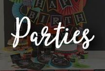 Chalk Art for Parties / Have the most unforgettable and exciting birthdays and parties with these unique Chalkboard Party ideas!