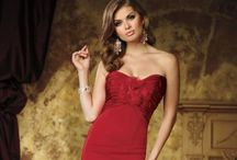 Evening Gowns ~ Red / Red Evening Gowns