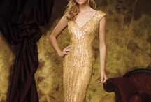 Evening Gowns ~ Gold