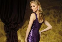 Evening Gowns ~ Purple