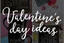 Valentine's Day Chalk Art / Surprise your loved one this Valentine's day with these surprisingly sweet chalk art ideas!
