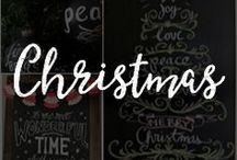 Chalk Art Christmas Ideas