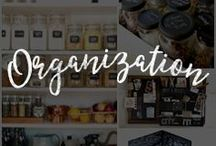 Chalk Art Organization Ideas / Organize your home, office, school, and so much more using these unique chalkboard organization ideas.