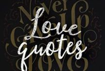 Love Quotes / Stay inspired with these chalkboard-inspired love quotes