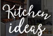 Chalk Art Kitchen Ideas / Customize your kitchen with these amazing DIY chalkboard ideas!