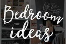 Chalk Art Bedroom Ideas / Customize your bedroom with these amazing DIY chalkboard ideas!