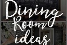 Chalk Art Dining Room Ideas / Customize your dining room with these amazing DIY chalkboard ideas!