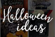 Chalk Art Halloween Ideas