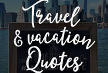 Travels & Vacation