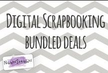 Nibbles Skribbles Bundled Deals / Check out this board to see beautiful Digital Scrapbooking Bundles from Nibbles Skribbles / by Nibbles Skribbles