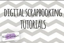 Digital Scrapbooking Tutorials / Tutorials related to digital scrapbooking / by Nibbles Skribbles