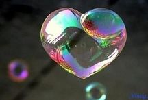 hearts / People can only see what is in your ❤ through your actions.