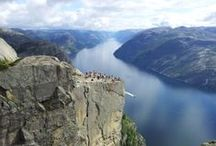 Norwegian Fjords and Mountains / The world famous Norwegian fjords