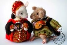 My Needle Felting / Needle felted items by Alison Mutton