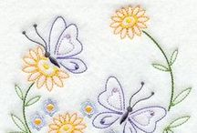 Embroidery / cross-stitches, hardanger, ribbon-art & other