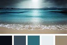Color palettes / colors, combinations