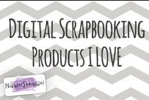 Kits I Love / Digital Scrapbooking Kits & Supplies that I Love / by Nibbles Skribbles