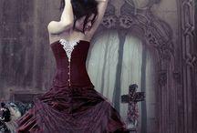 Dress Goth, Victorian, Medieval, Renaissance,