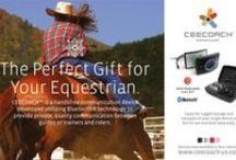 CEECOACH Advertising / You may have seen our ads in equestrian magazines or at major events; here are some of our popular ads.