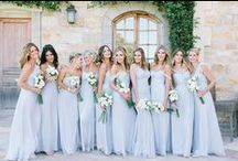 BRIDESMAIDS / For the beautiful women standing beside you on your big day.