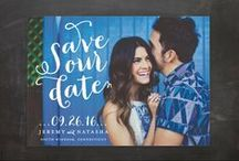 SAVE THE DATE / Beautiful Save the Dates for inspiration.