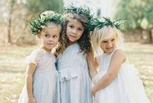 FLOWER GIRLS & RING BEARERS / Adorable &Absolutley Precious Tiny Humans. Enough Said.
