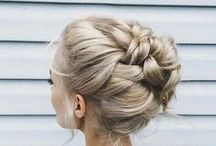 WEDDING HAIRSTYLES / Can't decide on what hairstyle for your wedding? Follow this board for inspiration.