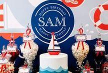 Nautical Birthday Party Theme / Nautical Party Theme & birthday invitations