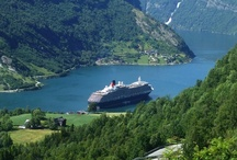 Norwegian Fjords and Waterfalls / In our latest shore excursions showcase, we have some stunning photographs from the Norwegian Fjords and Waterfalls...