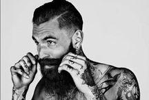 Män i snygga kläder/frisyrer / Men's clothes and hair inspo.