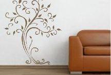 Adesivos de Parede / Lindos adesivos decorativos para colar em paredes.