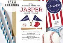 Baseball Party Printables / Baseball invitations and party printables, baseball cakes, plates cups