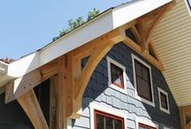 Timber Frame Homes - Exteriors - Homestead Timber Frames / Timber Frame - Craftsman Style