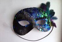Karneval / Fašiangy a podomácky vyrobené masky